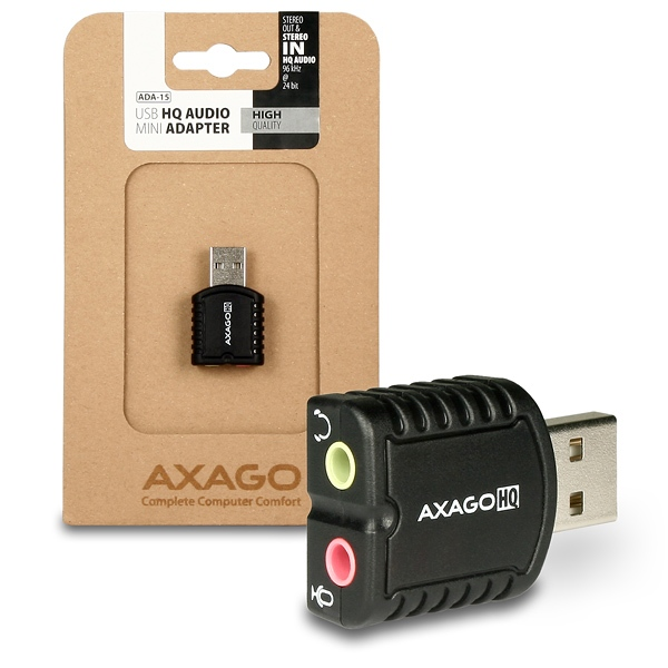 NEW DRIVER: AXAGO USB ADAPTER