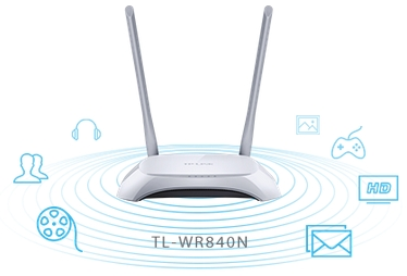 TP-Link TL-WR840N WiFi Router | Discomp - networking solutions
