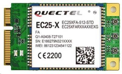 QUECTEL EC25-E Multi-mode LTE miniPCIe karta, 3x u Fl