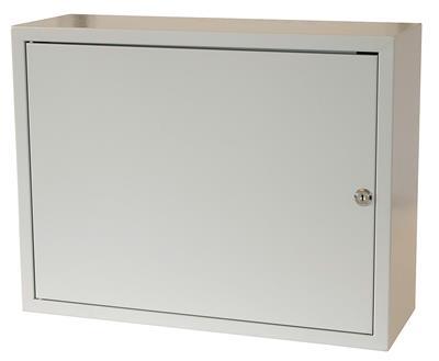 79381084c8e20 Rozvodná skříň 520x400x180, plechové dveře, uzamykatelná bez ventilace |  Discomp - networking solutions