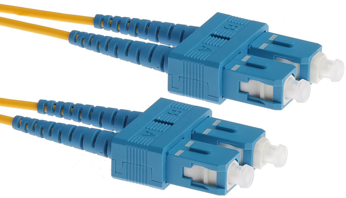 Masterlan Optick Patch Cord Scupc Duplex Singlemode 9 125 Kabel Fiber Optik Patchcord Optic 3m