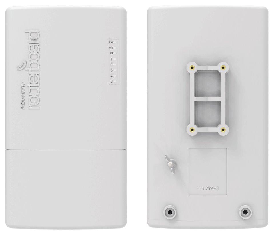 MikroTik RouterBOARD RB960PGS-PB PowerBox Pro, 5xGLAN (4x