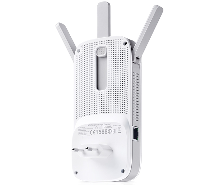 TP-Link RE450 - AC1750 Dual Band Wireless Wall Plugged Range