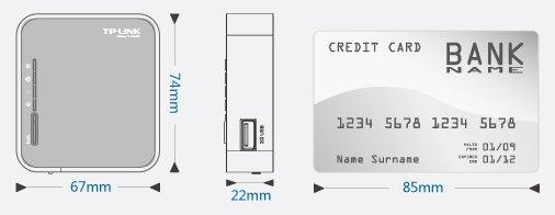 TP-Link TL-MR3020 Přenosný 3G/4G bezdrátový router | Discomp