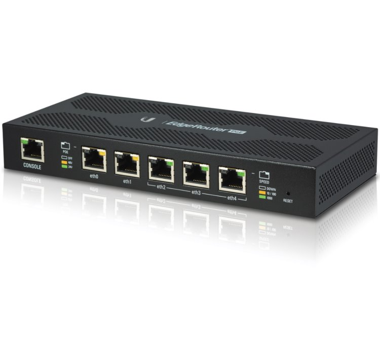 UBNT EdgeRouter PoE | Discomp - networking solutions